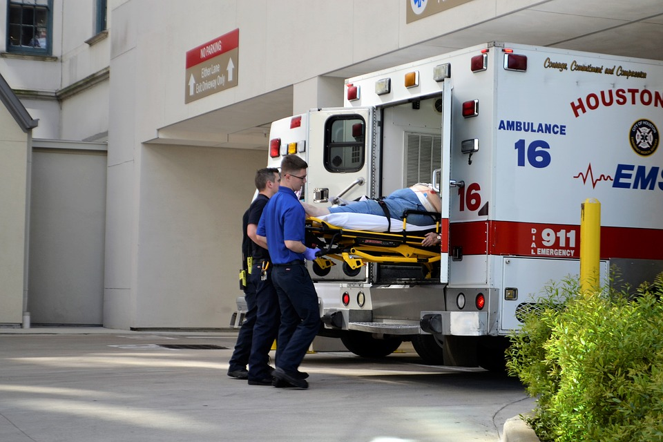 Medical Technician on ambulance