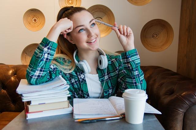 teen working student